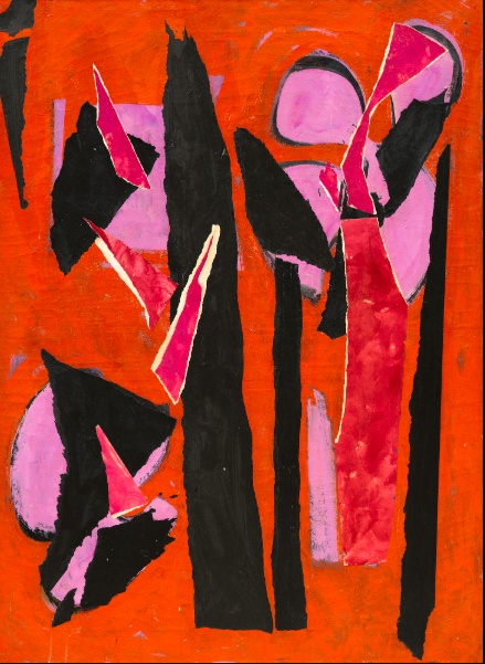 Lee Krasner Desert Moon 1955. Los Angeles County Museum of Art.