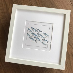 Constant Doodler Mackerel Art