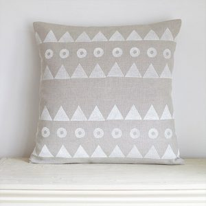 Joy Joliffe Mountains Cushion