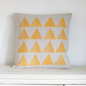 Joy Joliffe Triangles Cushion